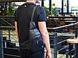 """Мужской рюкзак """"Max"""" 15 - черный, фото 7"""