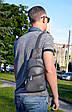 """Мужской рюкзак """"Max"""" 14 - серый, фото 4"""