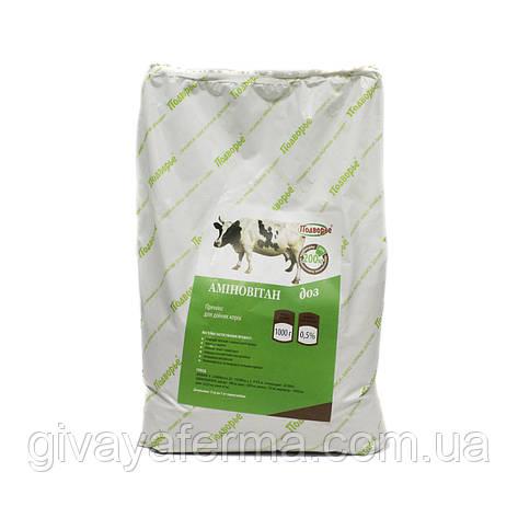 Витаминный премикс Аминовитан ДОЗ  0,5%, 1 кг, для дойных коров и крс, фото 2