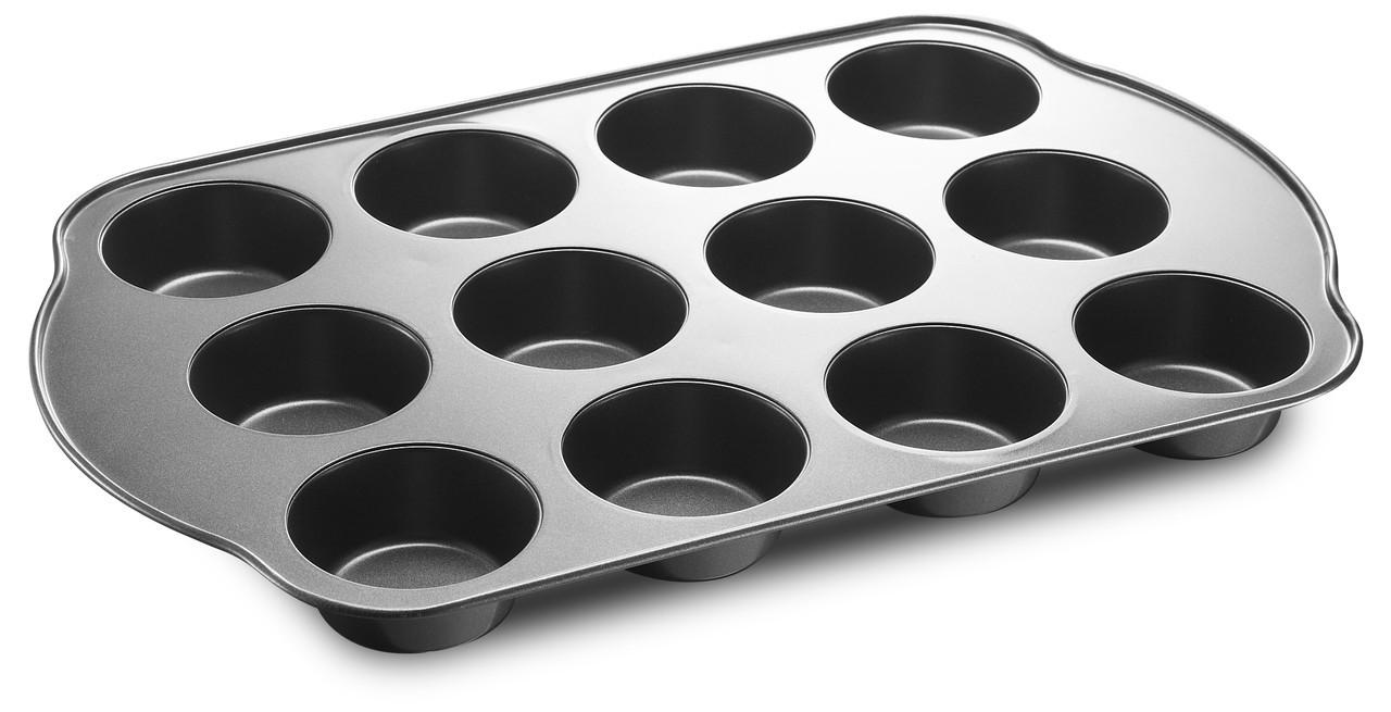Форма для выпечки кексов и маффинов 41х26,5х3 cм MAXMARK MK-P120