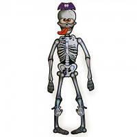 Декор настенный 85 см Скелет с языком