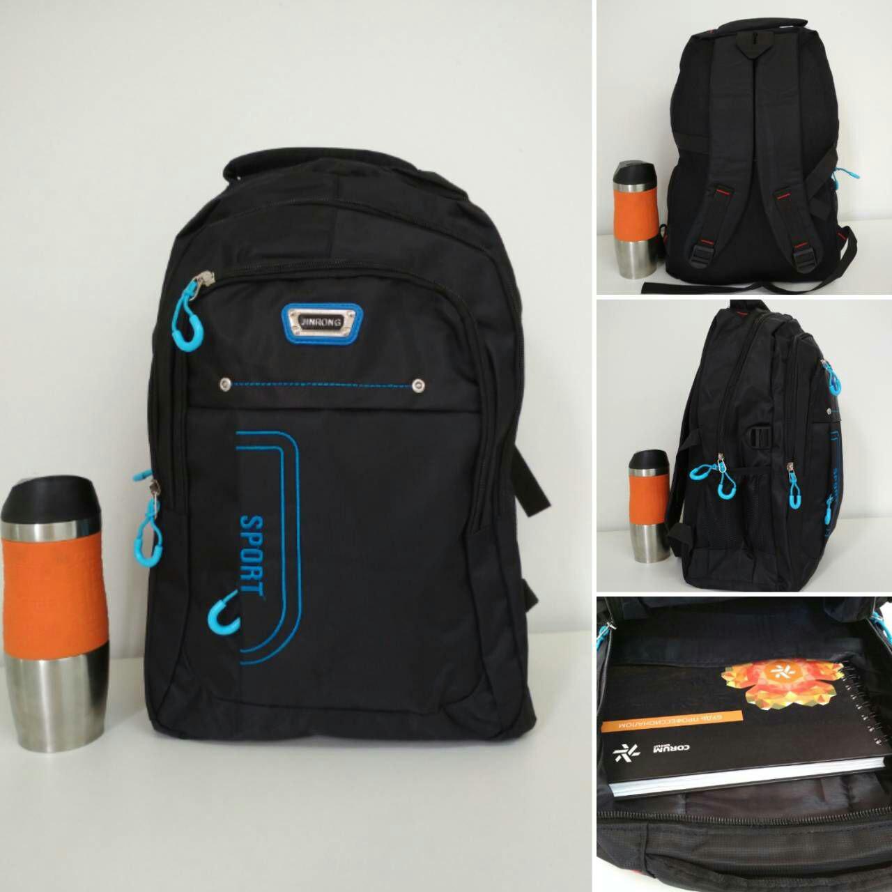 Рюкзак школьный из текстиля для мальчика подростка 40*30*20 см