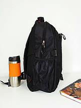 Рюкзак школьный для подростка с широкими лямками 40*30*20 см, фото 2