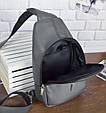 """Мужской рюкзак """"Max"""" 26 - серый, фото 6"""