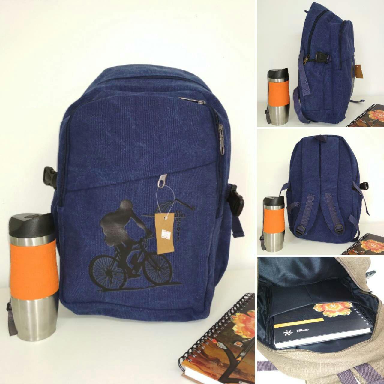 Текстильный школьный рюкзак для подростков 45*29*16 см