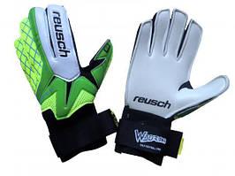 Перчатки Вратарские Reusch replica зелено-салатовые
