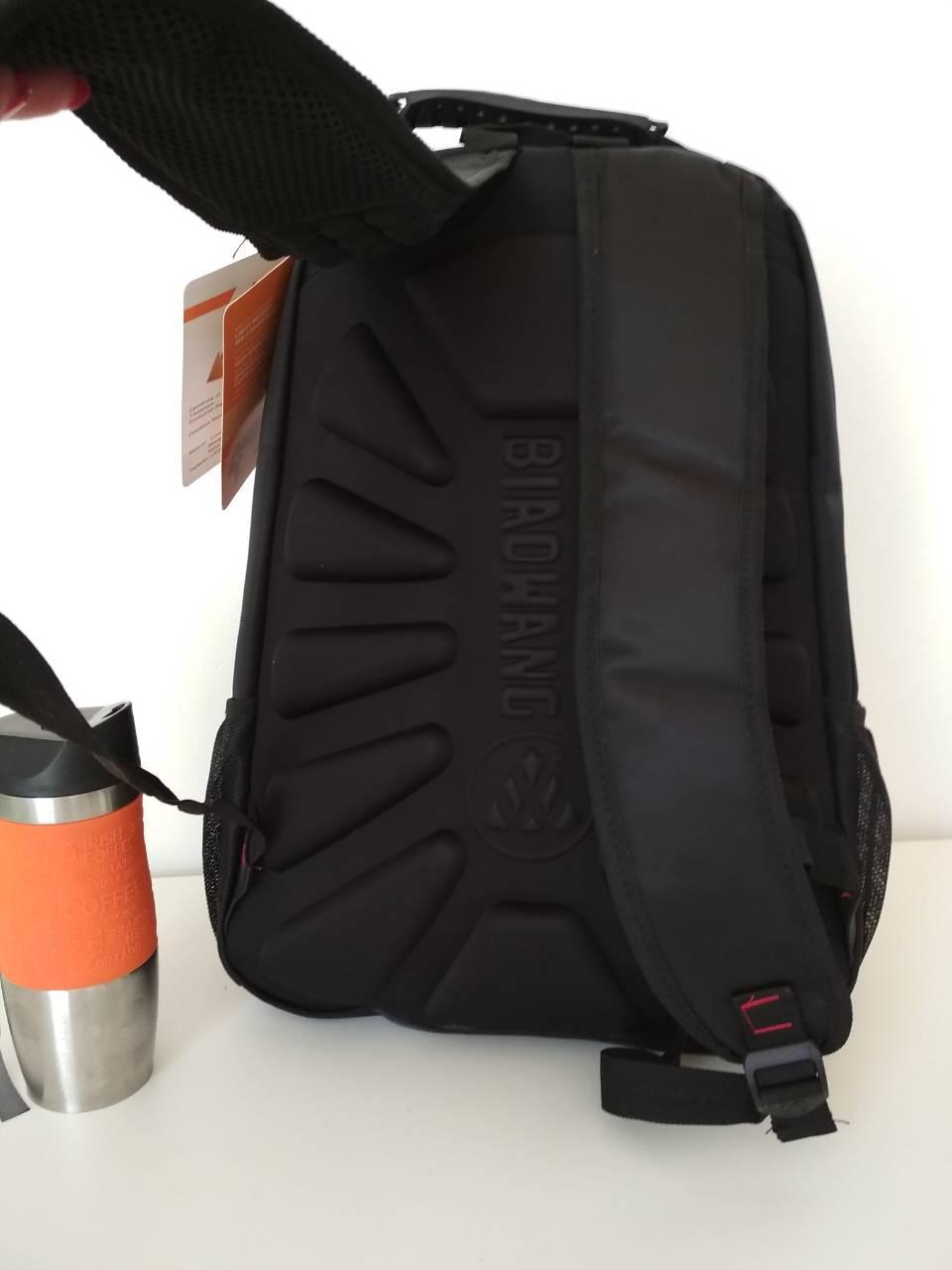 21995d23b76d Модный черный школьный рюкзак для подростка 47*32*15 см, цена 475 грн.,  купить в Харькове — Prom.ua (ID#736140101)