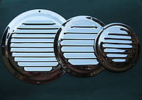 Нержавеющая вентиляционная решетка круглая