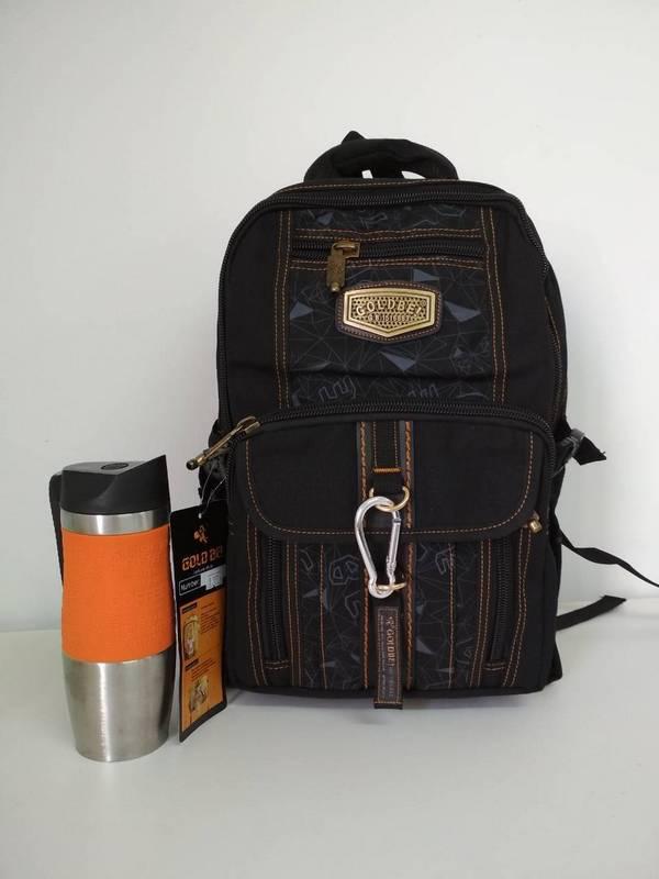 Текстильный школьный рюкзак для подростка 47*16*30 см