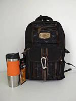 6cd093f5a518 Модный черный школьный рюкзак для подростка 47*32*15 см, цена 475 ...