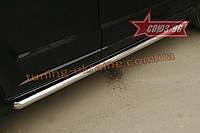 Пороги труба d 60 Союз 96 на Dodge Caliber 2006