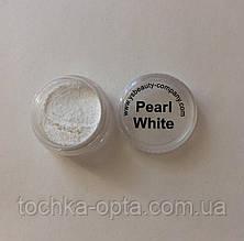 Жемчужная втирка Le Vole Pearl White белая