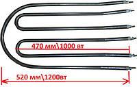 РЕМ КОМПЛЕКТ из трёх тэнов на Электро сковороду КЭ-0,51 (чёрная сталь)