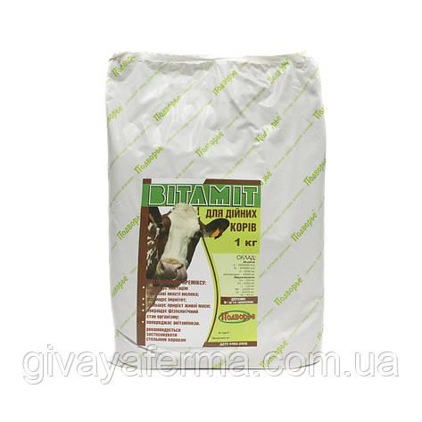 Премикс Витамит - дойная корова 1%, 1 кг, витаминная добавка в корм, фото 2