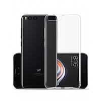 Силиконовый чехол 0,33 мм для Xiaomi Mi Note 3 прозрачный