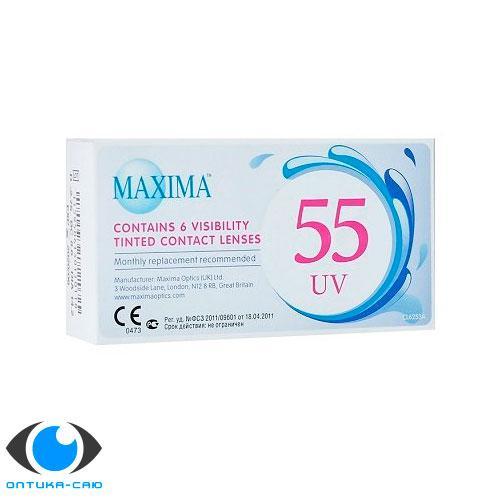 Линзы контактные 55
