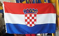 Флаг Хорватии 90х150см