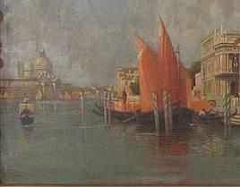 Картина Венеция C. Michels, нач ХХ-века, фото 3