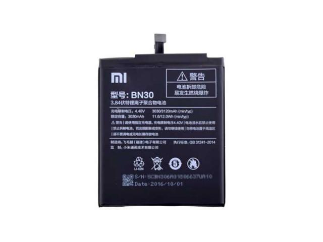 Аккумулятор Xiaomi BN30 (Xiaomi Redmi 4A), 3120 mAh Оигинал