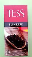 Чай Tess Sunrise 25 пакетиків чорний, фото 1