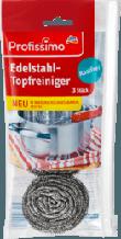 Нержавеющие скребки для мытья посуды Profissimo Edelstahl-Topfreiniger 3шт.