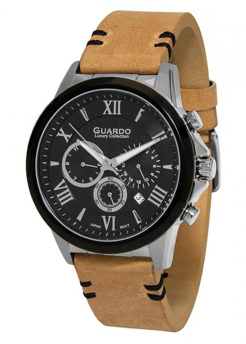Мужские наручные часы Guardo S01797 SBBr