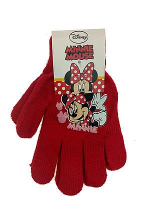 Перчатки для девочек от 4 до 6 лет
