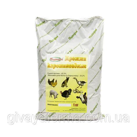 Дрожжи кормовые (каротиноидные), 1 кг, белково-витаминная добавка для всех видов домашних животных и птиц, фото 2