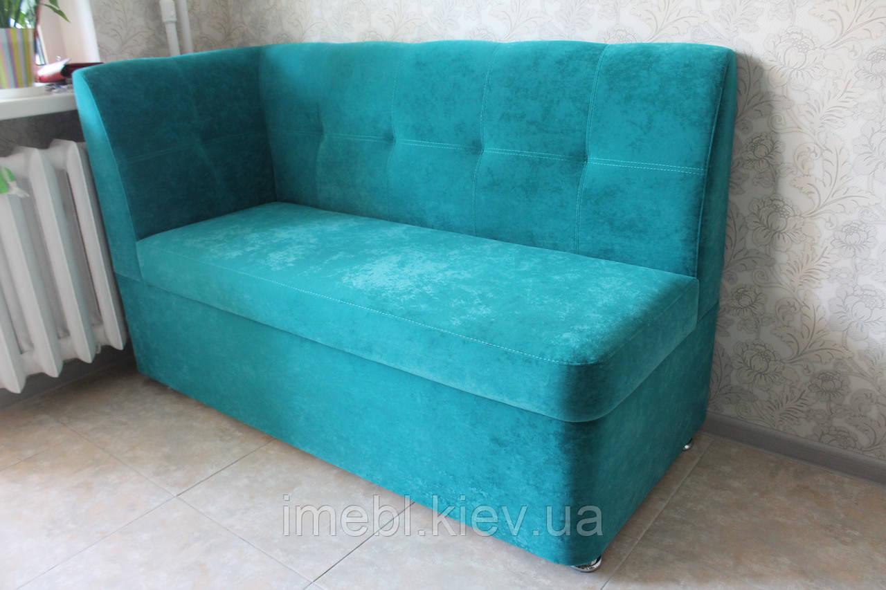 маленький диванчик для кухни голубой цена 5 700 грн купить с