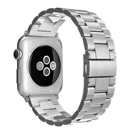 Ремешок ArmorStandart Classic для Apple Watch 42 мм Silver (42554), фото 2