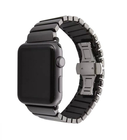 Ремешок ArmorStandart Premium для Apple Watch 42 мм Black (42312), фото 2