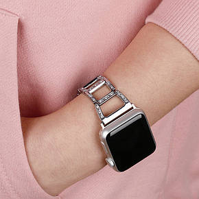 Ремешок ArmorStandart Girl для Apple Watch 42 мм Silver (41645), фото 2