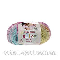 Alize Baby Wool Batik  (Ализе беби вул батик) 6550