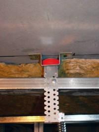 Vibrofix звукоизолирующие крепления для подвесных потолков, фото 2