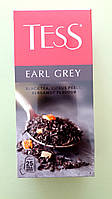 Чай Tess Earl Grey 25 пакетиків чорний, фото 1