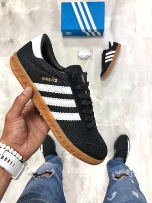 Кроссовки черный Adidas Hamburg