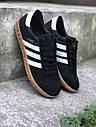 Кроссовки черный Adidas Hamburg, фото 2