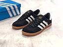 Кроссовки черный Adidas Hamburg, фото 4