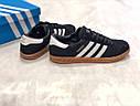 Кроссовки черный Adidas Hamburg, фото 5
