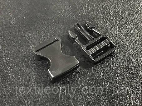 Карабин фаст цвет черный 15 мм, фото 2