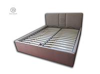Двуспальные кровати с мягким изголовьем от производителя купить Украина