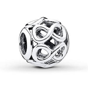 Pandora Charm Infinite Shine Sterling Silver