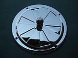 Нержавіюча вентиляційна решітка з заслінкою., фото 3