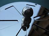 Нержавіюча вентиляційна решітка з заслінкою., фото 4