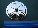 Нержавіюча вентиляційна решітка з заслінкою., фото 9