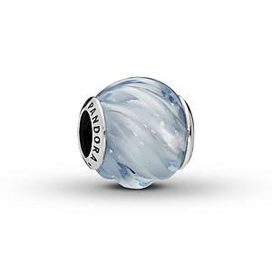 PANDORA Charm Blue Ripples Sterling Silver