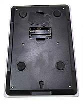 Весы кухонные электронные до 7кг Domotec MS-912 White, фото 2