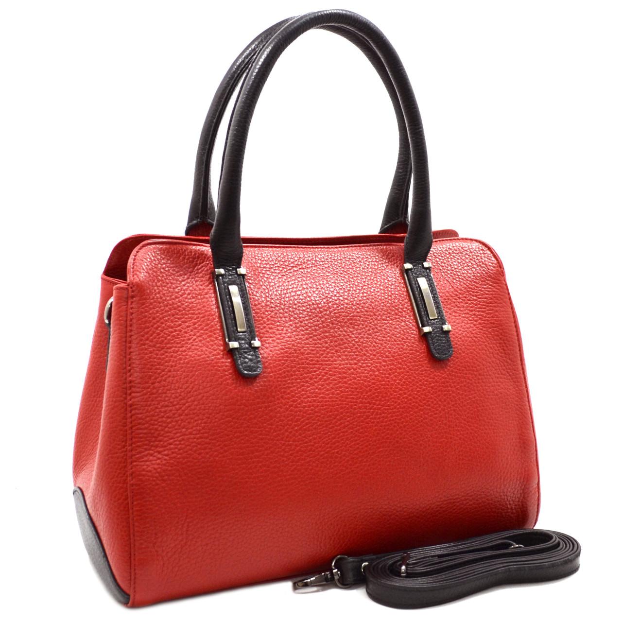 Женская кожаная сумка с ручками Desisan