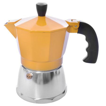 Кофеварка гейзерная 3 чашки R16590 Yellow