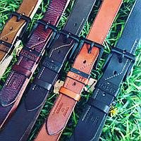"""Стильные кожаные ремни бренда """"Tommy Hilfiger"""" (расцветки), фото 1"""